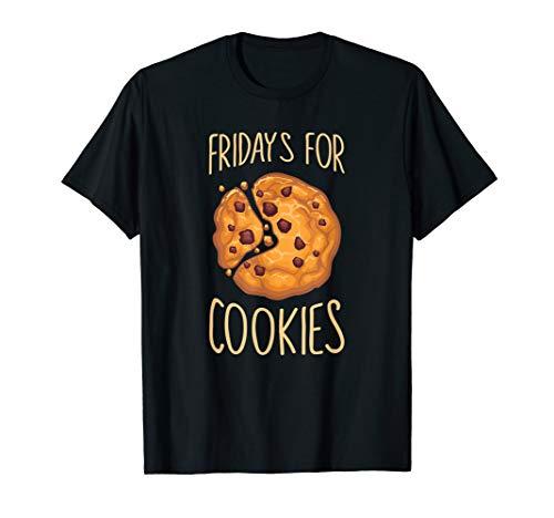 Fridays For Cookies Keks Krümel mit Splitter aus Schokolade T-Shirt