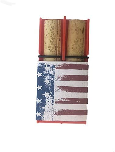 Raleigh Mall Red Tenor Saxophone American San Diego Mall Flag Lescana by Rockin' Reed Holder