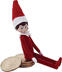 The World's Smallest the Elf on the shelf is a timeless Christmas classic A miniature replica of the original full-sized Elf on the shelf, World's Smallest is less than 4 inches from the tip of his hat to the bottom of his feet and is fully articulat...