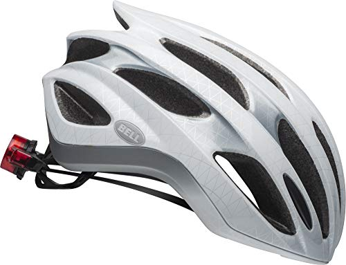 Bell Formula LED MIPS Adult Bike Helmet - Slice Matte/Gloss White/Silver - Medium (55–59 cm)