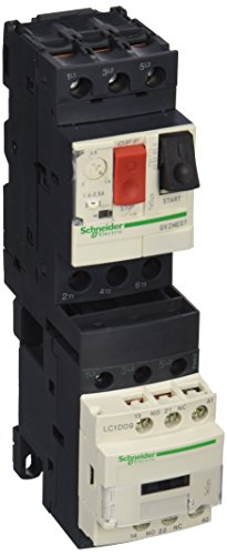 Schneider GV2DM107B7 Direktstarter, 0,75kW/415V/AC3, 50/60Hz, 1 Drehrichtung, 24 V