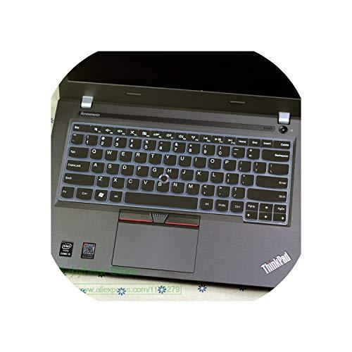 Silicone Notebook Keyboard Cover Skin Protector for Lenovo ThinkPad X1 Carbon T431S T440S T440P T440 L330 T430U S430 E445-allrose