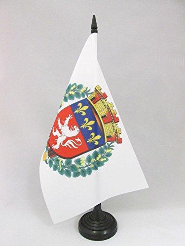 AZ FLAG Bandera de Mesa de la Ciudad DE Lyon
