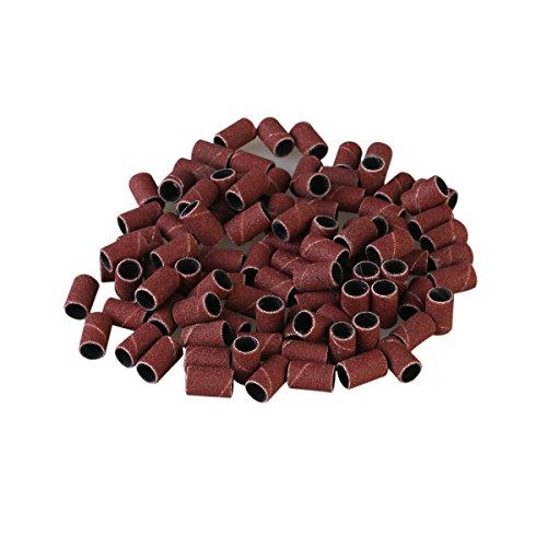 Frcolor Grano 100 piezas brocas de recambio de bandas de lijado para taladro arte máquina