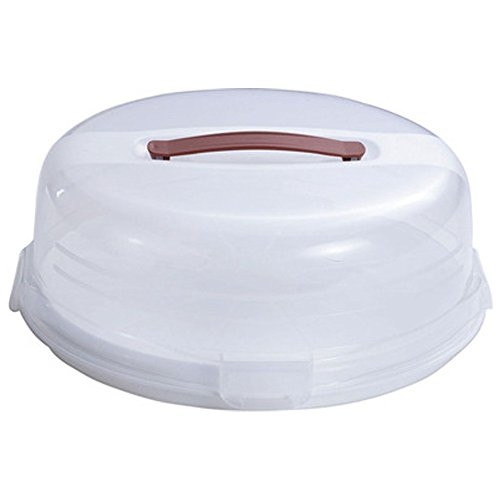 CURVER Cupcake Box Chef@Home in transparent/weiß, Plastik, 35 x 25 x 10 cm