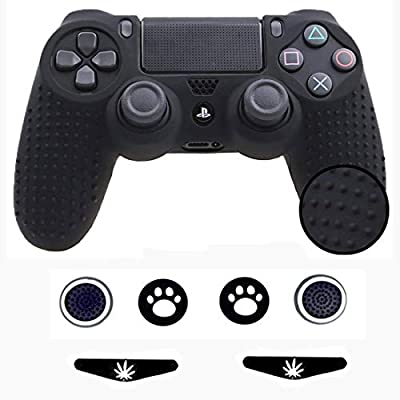 Taifond Anti-Slip Silicone Controller Cover Protective Skins for PS4/SLIM/PRO Controller