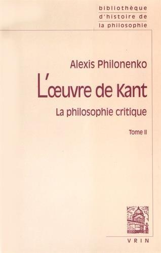 L'Oeuvre de Kant