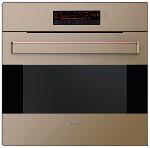 Amica EB 63533 M Backofen Elektro/A / 66 L/Ambientlight beleuchteter Griff/manhatten beige