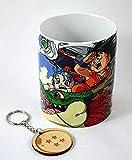 TusPersonalizables.com Taza Dragon Ball + Llavero de Madera (Dragon)