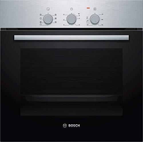 Bosch Elettrodomestici HBF011BR0 Serie 2 - Horno empotrable, 60 x 60 cm, acero inoxidable Clase A