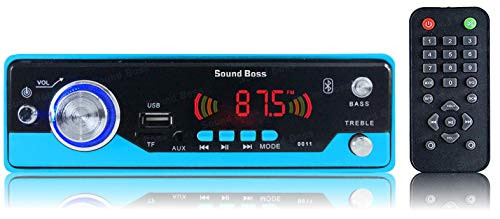 Sound Boss BLUETOOTH/MP3/FM/USB/SD/AUX HI-Power Digital Car Stereo (Single Din)