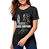 LindaDFeeney Luke Bryan Tour 2019 Woman's Beautiful Tshirts M Black