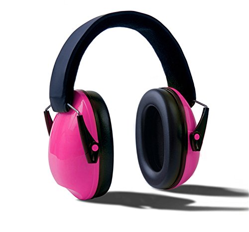 HMILYDYK Weiche Ohrenschützer NRR 25 dB Geräuschreduzierung Gehörschutz für Kinder, verstellbarer Kopfbügel, Gehörschutz für Schießen, Jagd oder Bau, ideal für Kleinkinder, Kinder, Jugendliche
