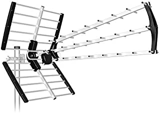 Antena TDT LTE Alta Ganancia 18 dB BKM (Negro