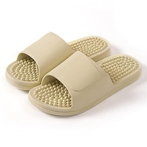 Zzx flip flop Summer Slippers voor Vrouwen - 2021 Zomer Massage Slippers Nieuwe Paar Unisex Schoenen Indoor Home Slippers Dias Soft Antislip Slijtvaste Comfortabel Schoenen Dames MS