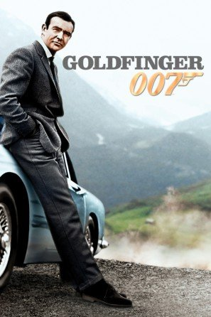 Goldfinger – James Bond – Sean Connery – U.S Movie Wall Poster Print, 30 x 43 cm, 007