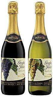 【限定入荷】ドネリ ノンアルコール グレープ・スパークリング・ジュース 飲み比べセット 750ml×2本 『ロッソ』『ビアンコ』