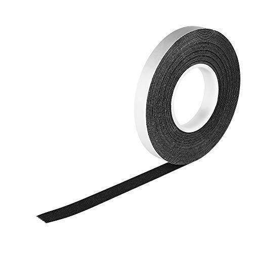 8,0m Komprimierband 20/4 Bandbreite 20mm, Acryl 300, expandiert von 4 auf 20mm, anthrazit, vorkomprimiertes selbstklebendes Dichtungsband Kompriband Fugendichtband Fensterdichtband Quellband
