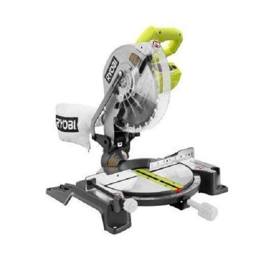 Factory-Reconditioned Ryobi ZRTS1345L 10 in. Compound Miter Saw with Laser...