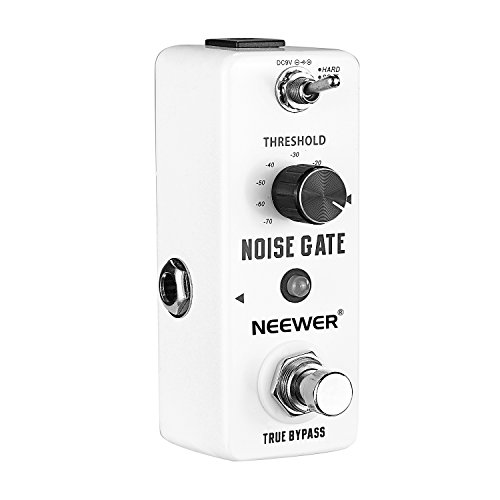 Neewer reg; Aluminium-alloy Noise Killer Guitar Noise Gate Suppressor Effect Pedal with 2 Working Models and LED Indicator