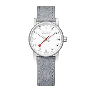 Mondaine EVO2, Casual Leather Watch for Women, MSE.30110.LH, 30MM