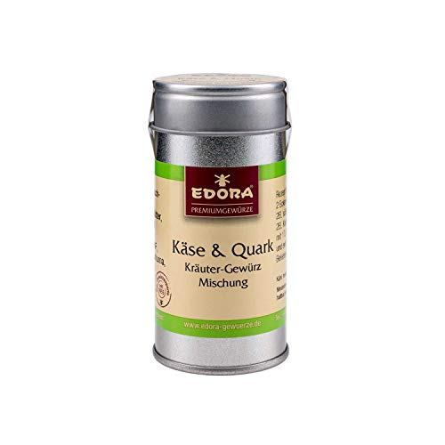 Premium Qualität Gewürz EDORA Streudose Streuer Käse und Quark Kräuter Gewürzmischung 15 Gramm