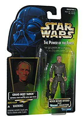 Star Wars Power of the Force Green Card Grand Moff Tarkin Action Figure 3.75 Inches