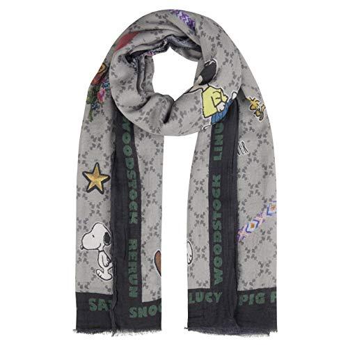 CODELLO XL-Schal,PEANUTS aus Baumwolle und Modal