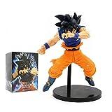 LTY YHP Ultra Instinto Kakarotto Son Goku Figura Dragon Ball Z Juguetes coleccionables Figura de acc...