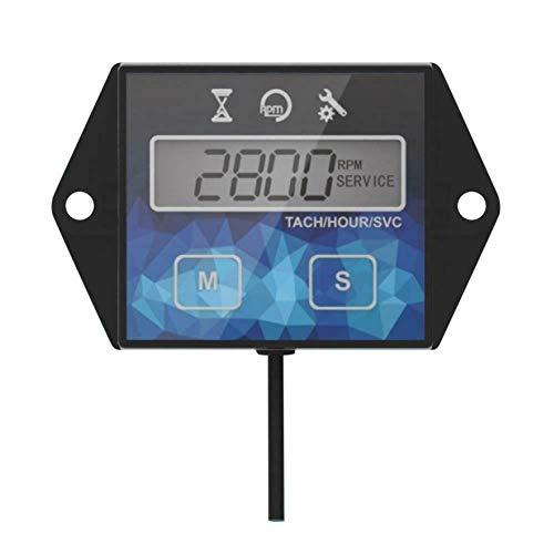 GENFALIN LCD de la Motocicleta tacómetro IP65 0,1H / 1H 1PC ABD ATV Partes accesorias Agua