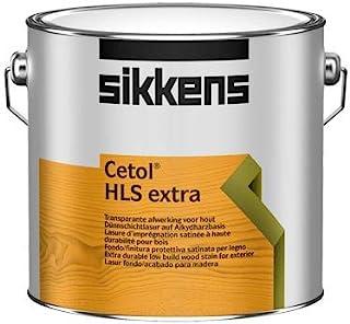 Sikkens Cetol HLS extra 2,5 ltr Gebinde, 009 Eiche dunkel Holzlasur | Wetterschutz für außen | Profi Holzschutz-Lasur