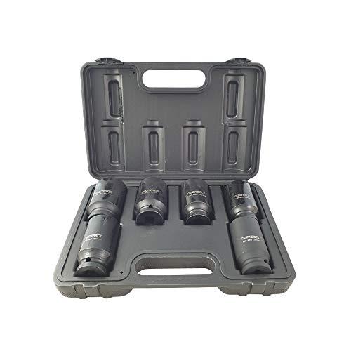 KS Tools - Llave de vaso para llave de impacto (dentado, 1/2