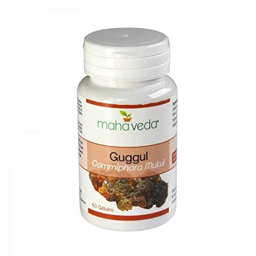 Guggul (Commiphora Mukul) - Aide à maintenir un taux de cholestérol sain - 60 gélules - Maha Veda