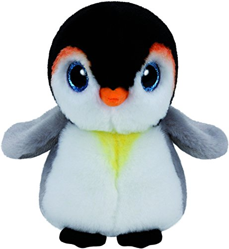 Carletto Ty 90232 Pongo Penguin Plüschtier, Mehrfarbig