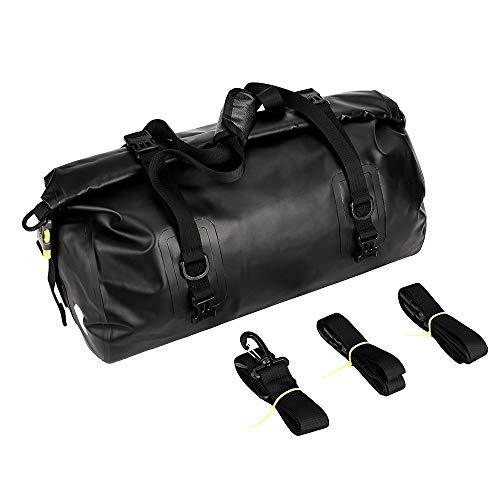N \ A 20l wasserdichte Reisetasche Fahrrad Fahrrad RüCksitz Kofferraumtasche FassföRmige Fahrrad RüCksitz Kofferraumtasche Wird Als UmhäNgetasche Und Handtasche Verwendet