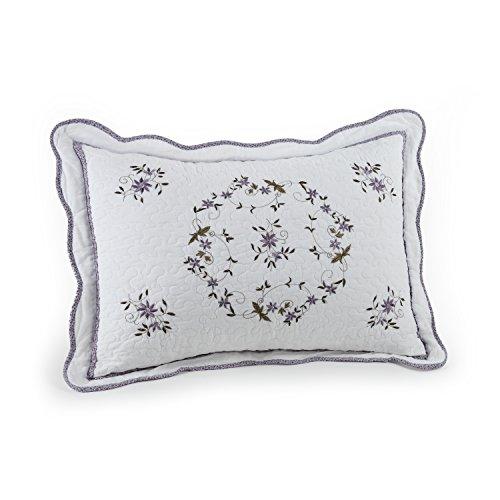 Modern Heirloom Collection Gwen Cotton Filled Bedspread, Standard Sham