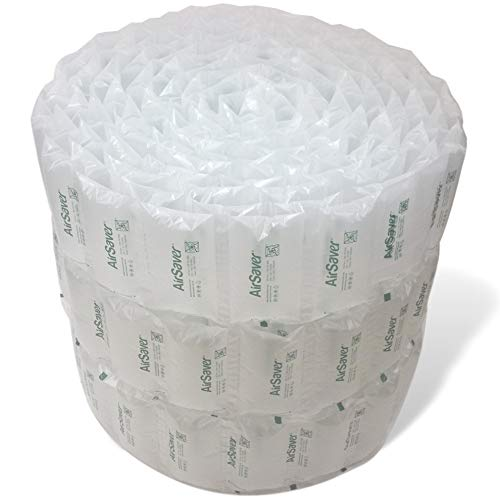 332 4x8 Inch AirSaver by SunshineColdwater Air Pillows Green Eco Friendly Void Fill Cushioning for Shipping and Packaging