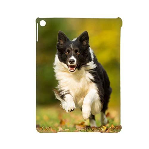 Carcasa rígida de plástico con impresión Collie Quality Compatible para iPad Air 2Gen Women