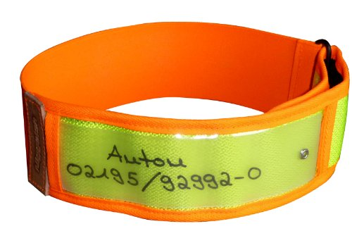 Niggeloh Hundewarnhalsung, gelb, S/M, 101100028