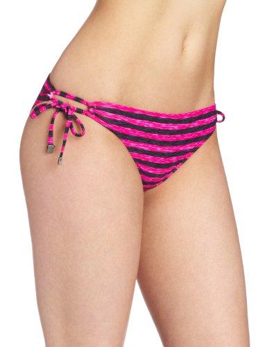 Oakley Swim Damen Bikini 3D Stripe Reversible String Gr. X-Small, Pink Blast