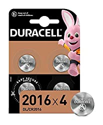 Duracell 2016 lithium coin batteries are designed for use in keyfobs, small remotes, scales, wearables, sensors, medical devices (glucometers, digital thermometers), sports devices (heart rate monitor, bike accessories) Duracell lithium coin batterie...