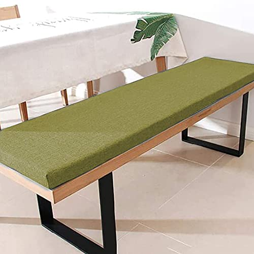 MQSS Thick Bench Cushion 5cm, Rectangle Patio Chair Pad Mat,Non-Slip Lounger Chair Cushion for Garden Outdoor Indoor