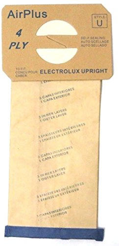 18 Bags for Electrolux Upright Vacuum Cleaner STYLE U