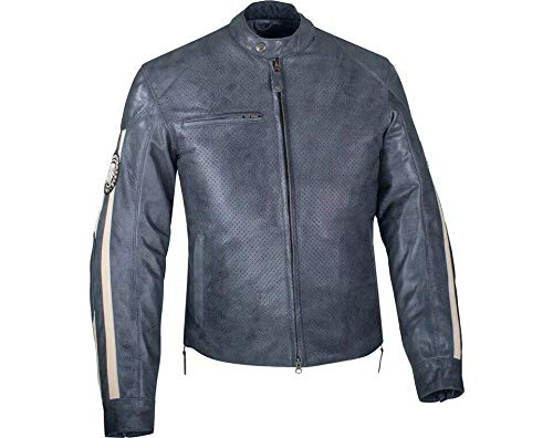 Leather Gray Jackets for Men's