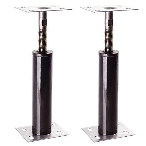 Akron Adjustable Floor Jack (Model C-4), Akron Jacks Floor Jacks, Telescoping Jack For Temporary Support, Size Range 1'-1' 3
