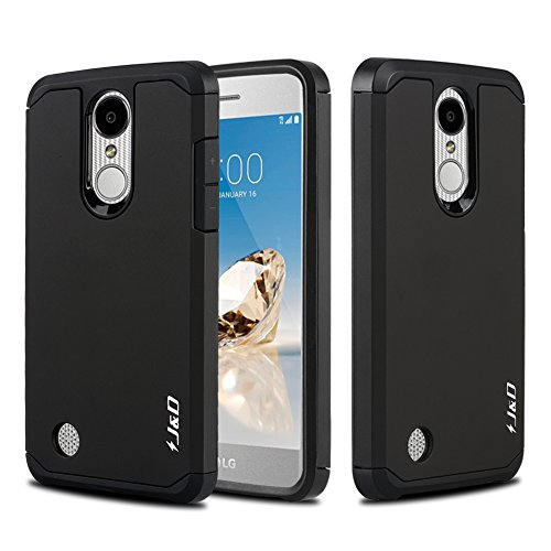 J&D Case Compatible for LG Aristo/LG Phoenix 3 / LG K8 2017 / LG...