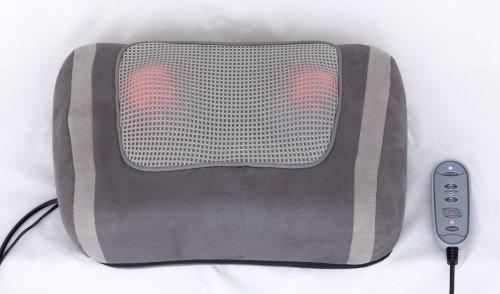 Preisvergleich Produktbild Shiatsu Massagekissen mit zuschaltbarer Rotlicht- und Wärmefunktion