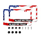 DZGlobal in GOD WE Trust American Flag Red...
