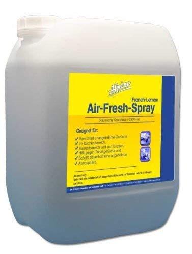 5 Liter Raumduft Air Fresh Spray French Lemon inkl. 1L Nachfüllflasche (2,99€/L)