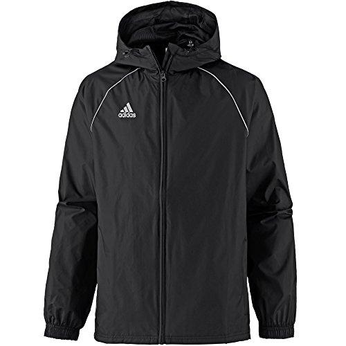 adidas CORE18 RN JKT Chaqueta Deportiva, Hombre, Negro (Black/White), L